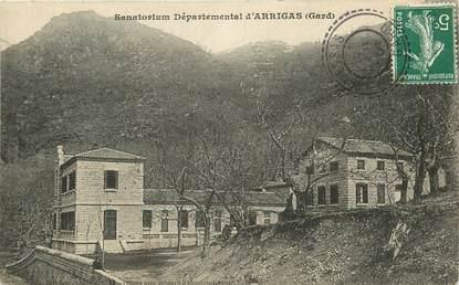 """CPA FRANCE 30 """"Arrigas, sanatorium"""""""