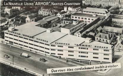"""/ CPSM FRANCE 44 """"Nantes Chantenay, la nouvelle Usine Armor"""""""