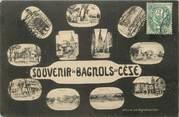 """30 Gard CPA FRANCE 30 """"Souvenir de Bagnols sur Cèze"""""""