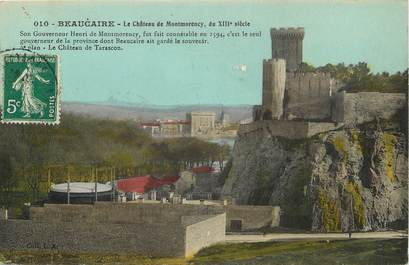 """CPA FRANCE 30 """"Beaucaire, chateau de Montmorency"""""""