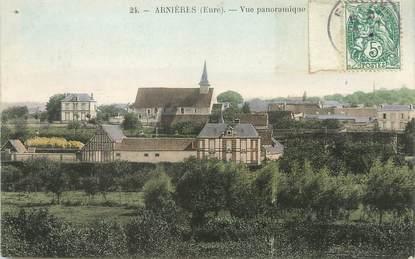"""/ CPA FRANCE 27 """"Arnières, vue panoramique"""""""