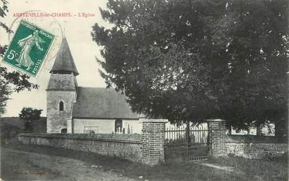 """/ CPA FRANCE 27 """"Amfreville les Champs, l'église"""""""