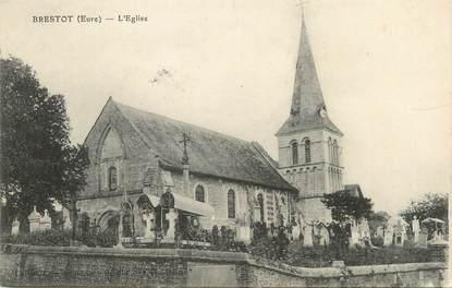 """/ CPA FRANCE 27 """"Brestot, l'église"""""""