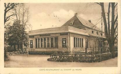 """CPA FRANCE 68 """"Colmar, Café restaurant du Champ de Mars"""""""