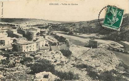 """CPA FRANCE 30 """"Collias, vallée du Gardon"""""""