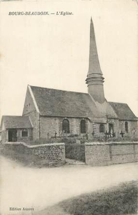 "/ CPA FRANCE 27 ""Bourg Beaudoin, l'église"""