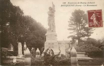 """/ CPA FRANCE 27 """"Bouquetot, le monument"""""""