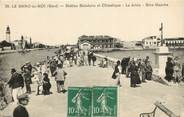 """30 Gard CPA FRANCE 30 """"Le Grau du Roi, station balnéaire, la Jetée , rive gauche"""""""