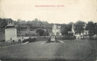 """/ CPA FRANCE 27 """"Berthenonville, une villa"""""""