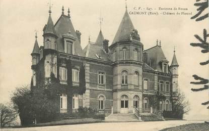 """/ CPA FRANCE 27 """"Caumont, château de Plouzel"""""""