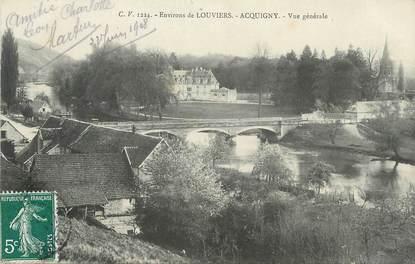 """/ CPA FRANCE 27 """"Environs de Louviers Acquigny, vue générale"""""""