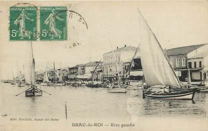 """CPA FRANCE 30 """"Le Grau du Roi, rive gauche"""""""
