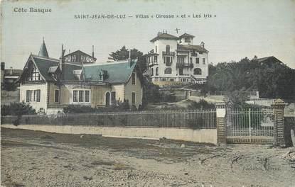 """/ CPA FRANCE 64 """"Saint Jean de Luz, Villa Giresse et les Iris"""""""