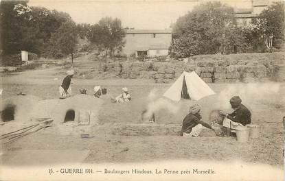 """CPA FRANCE 13 """"La Penne, près de Marseille, camp hindou"""""""
