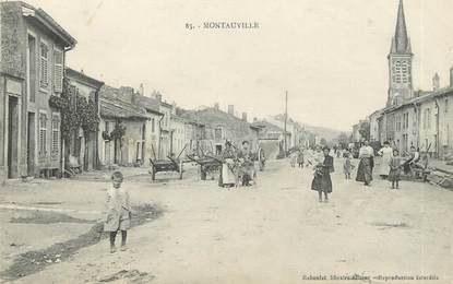 """/ CPA FRANCE 54 """"Montauville"""""""