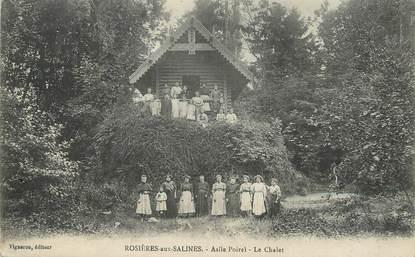 """/ CPA FRANCE 54 """"Rosières aux Salines, le chalet"""""""