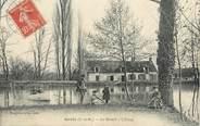 """77 Seine Et Marne / CPA FRANCE 77 """"Gretz, Le Mesnil, l'étang"""""""