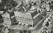 """80 Somme / CPSM FRANCE 80 """"Abbeville, vue aérienne, l'hôtel de France"""""""