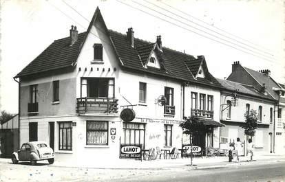 """/ CPSM FRANCE 80 """"Fort Mahon plage, l'hôtel la Hutterie"""""""