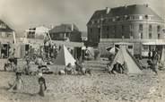 "80 Somme / CPSM FRANCE 80 ""Fort Mahon plage, la plage"""