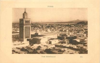 """CPA TUNISIE """"Tunis, vue  générale"""""""