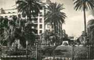 """Tunisie CPSM TUNISIE """"Tunis, place de la Résidence, monument aux morts"""""""
