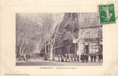 """CPA FRANCE 11 """"Narbonne, Bld de la Gare"""""""