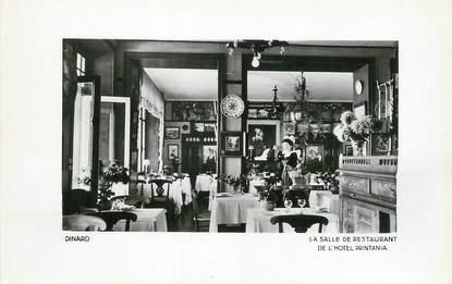 "/ CPSM FRANCE 35 ""Dinard, la salle de restaurant de l'hôtel Printania"""