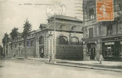 """/ CPA FRANCE 35 """"Rennes, la poissonnerie"""""""