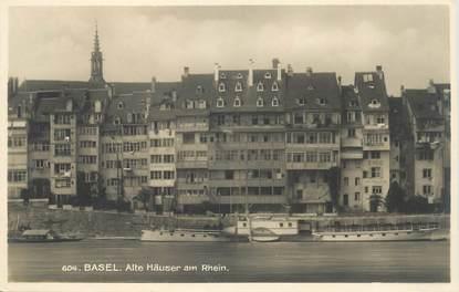 """CPA SUISSE """"Basel, sur le Rhin"""""""