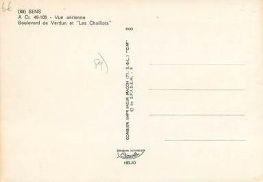 Cpsm france 89 sens vue a rienne 89 yonne sens for Sens 89 yonne