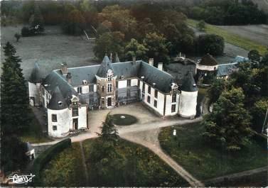 """/ CPSM FRANCE 89 """"Perreux, château de Montigny et le parc"""""""