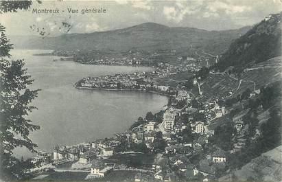 """CPA SUISSE """"Montreux, vue générale"""""""