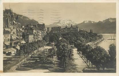 """CPA SUISSE """"Montreux, la Rouvenaz"""""""