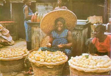 """CPSM GHANA, scène de marché"""""""
