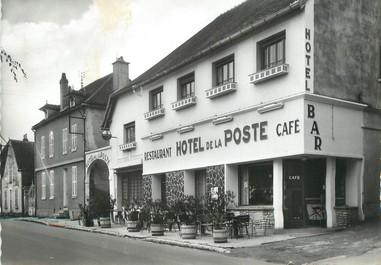 """/ CPSM FRANCE 89 """"Flogny, l'hôtel de la poste"""""""