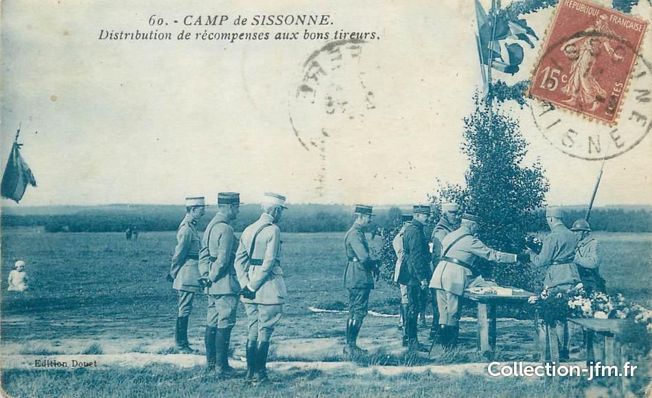 Cpa france 02 camp de sissonne militaire 02 aisne for Sissonne 02