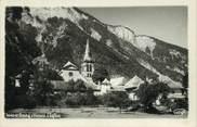 """38 Isere / CPSM FRANCE 38 """"Bourg d'Oisans, l'église"""""""