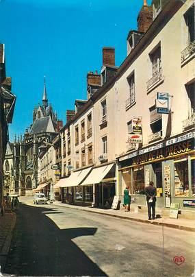 "CPSM FRANCE 72 ""la Ferté Bernard, la rue carnot"""