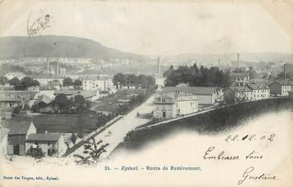 """/ CPA FRANCE 88  """"Epinal, route de Remiremont'"""
