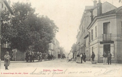 """/ CPA FRANCE 88  """"Epinal, rue thiers"""""""