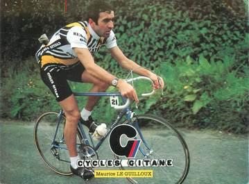 """CPSM CYCLISME """"Maurice Le Guilloux"""""""