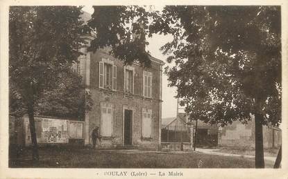 "/ CPA FRANCE 42 ""Boulay, la mairie"""