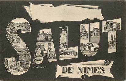 """CPA FRANCE 30 """"Salut de Nîmes"""""""