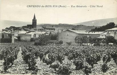 """CPA FRANCE 11 """"Capendu du Bon Vin"""""""