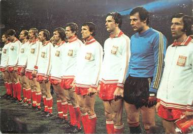 CPSM  SPORT / FOOTBALL Coupe du Monde 1978 / POLOGNE