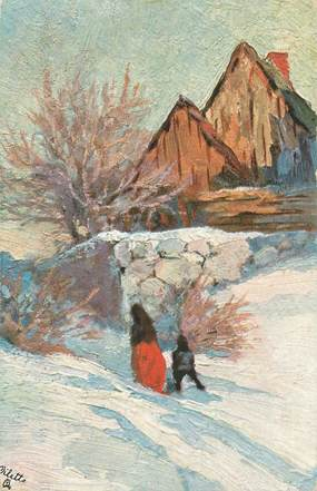 """CPA TUCK """"Paysage d'Hiver"""""""