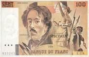 Theme CPSM REPRESENTATION BILLET / ARGENT / MONNAIE 100 francs