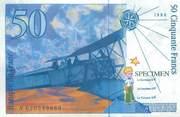 Theme CPSM REPRESENTATION BILLET / ARGENT / MONNAIE 50 Francs