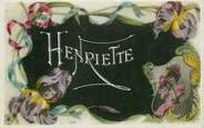 "Theme CPA PRENOM ""Henriette"""
